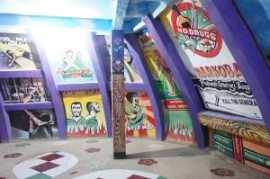 Lukisan dinding Bukit Rhema