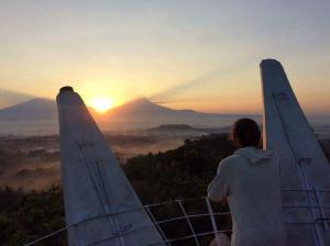 sunrise bukit rhema magelang